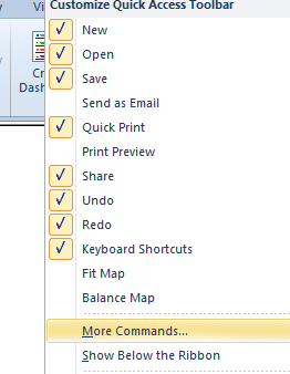 topic context menu addition