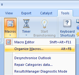 add macro to topic context menu