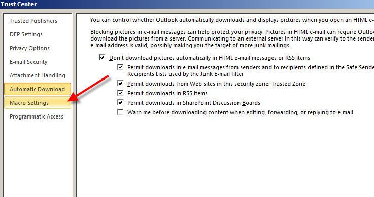 how to enable icloud add in outlook 2010
